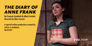 Diary of Anne Frank advertisement.