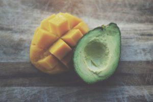 Mango and avocado.