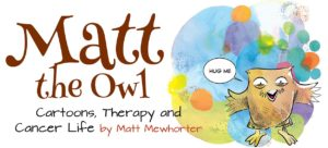 Matt the Owl cartoon illustration.