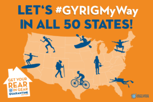#GYRIGMyWay in all 50 states