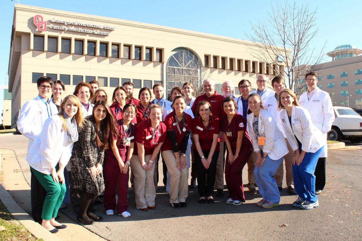 OU Bedlam Clinics students and staff
