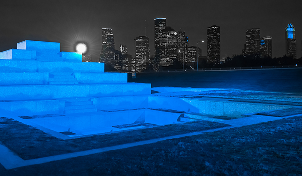 Landmarks across the country go Blue for Colorectal Cancer Awareness Month