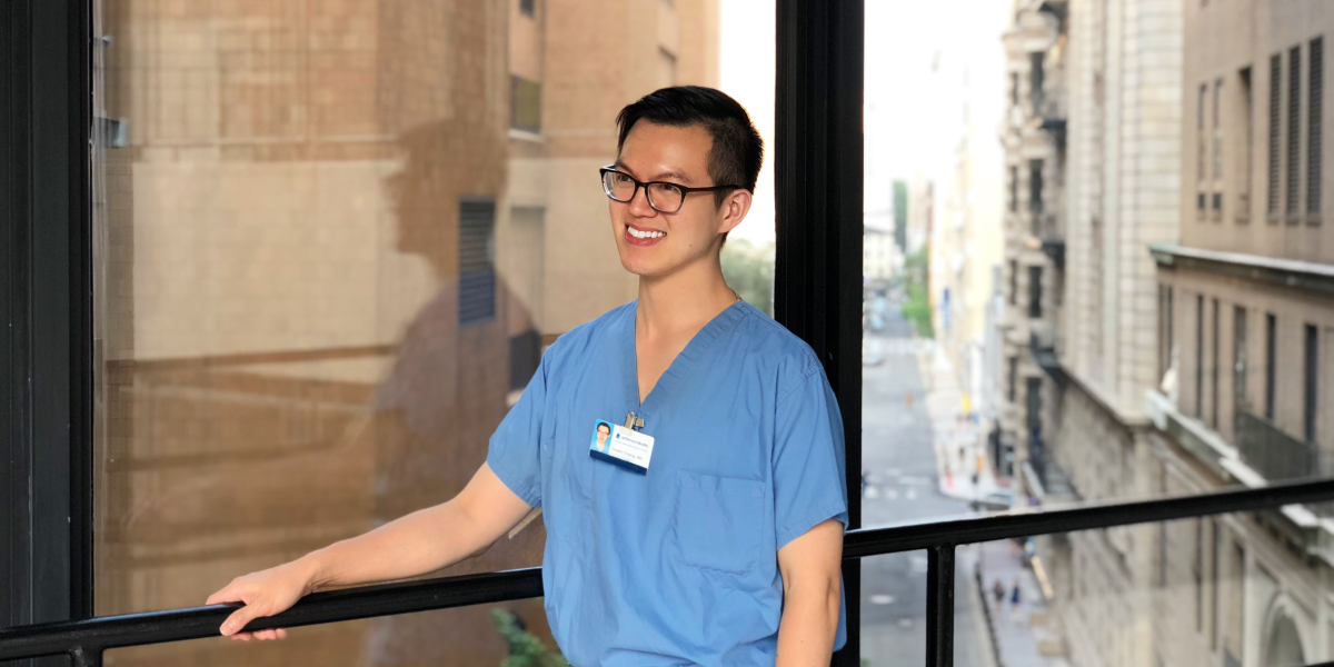 Faces of Blue: Austin Chiang, MD
