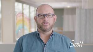 Scott, 3-year colon cancer survivor