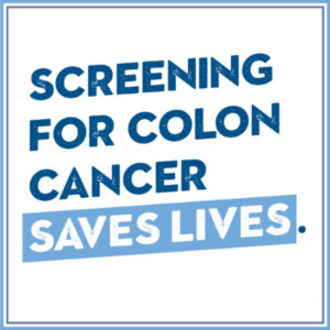 Screening for colon cancer saves lives